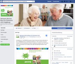 Das Senioren-Service-Buch auf auf facebook